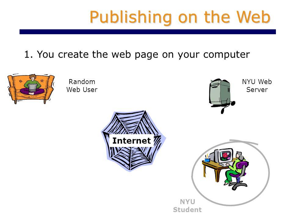 Publishing on the Web 1.