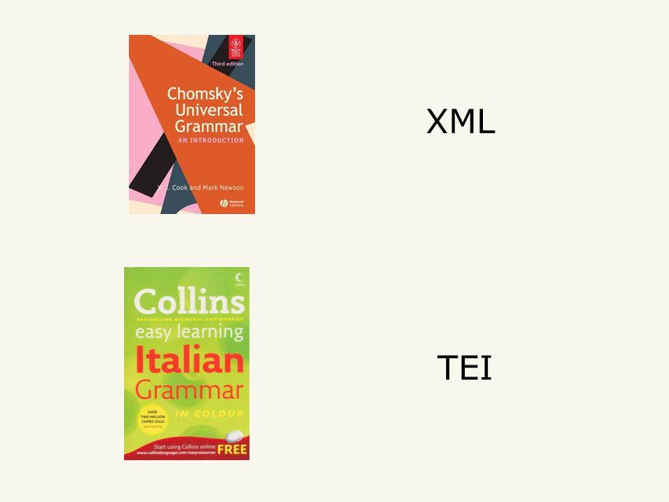 XML TEI