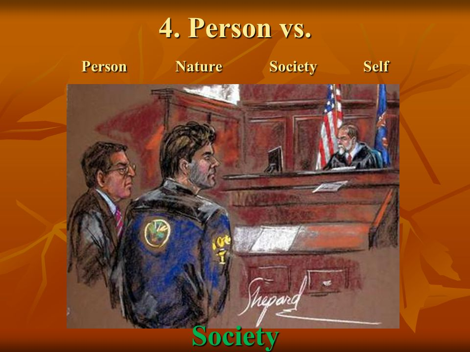 4. Person vs. PersonNatureSocietySelf Society