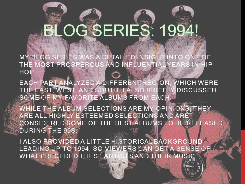 BLOG SERIES: 1994.