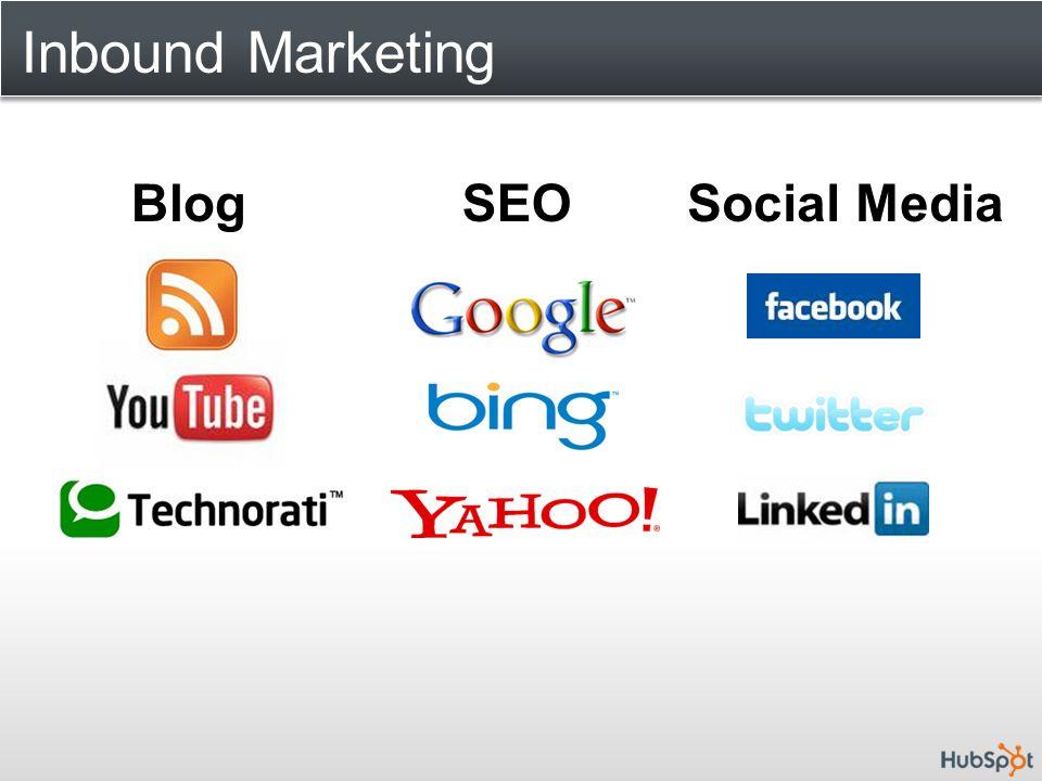Inbound Marketing BlogSEOSocial Media