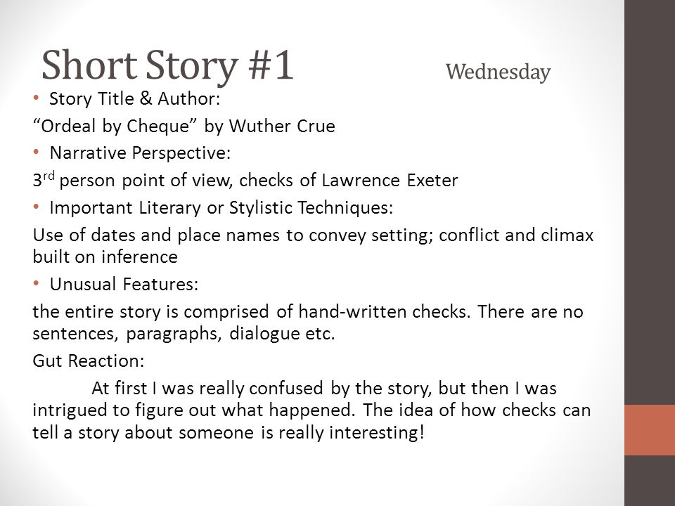 Past, Present, Future Friday Creative modern fiction imitation writing time Peer feedback New story!