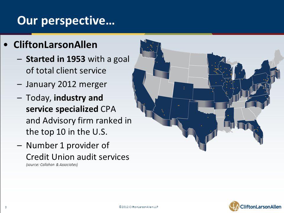 ©2012 CliftonLarsonAllen LLP 44 The Interagency Advisory on Interest Rate Risk Management - FAQ 7.