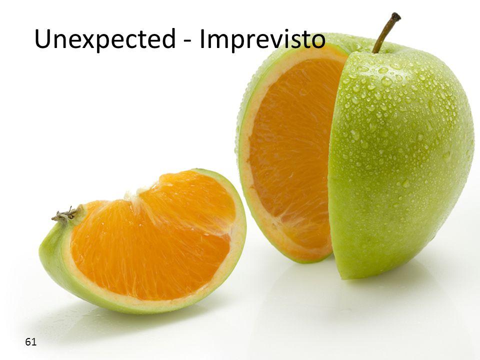 Unexpected - Imprevisto 61