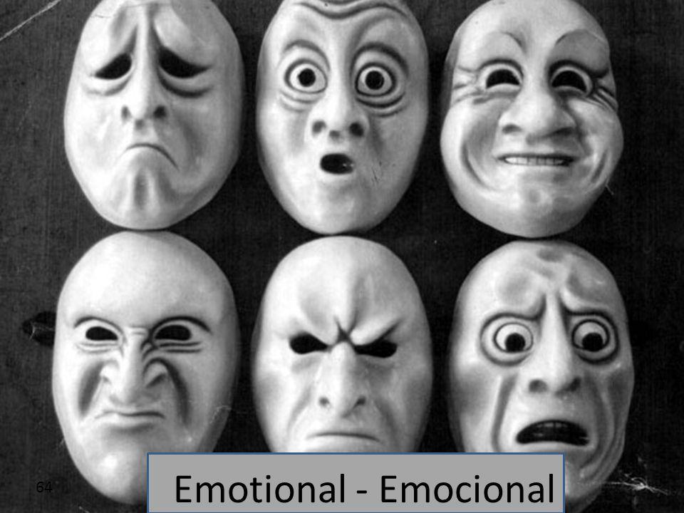 64 Emotional - Emocional
