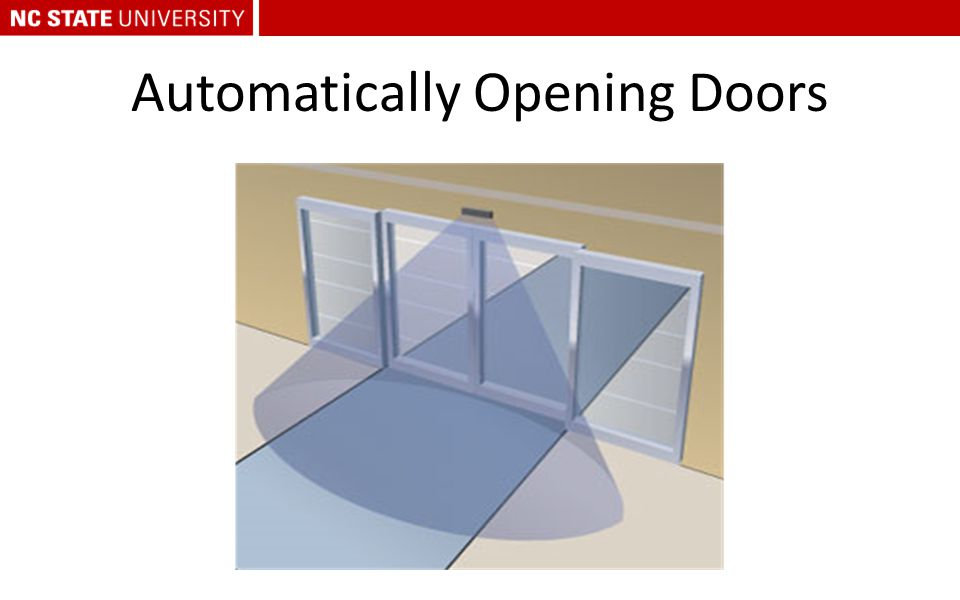 Automatically Opening Doors