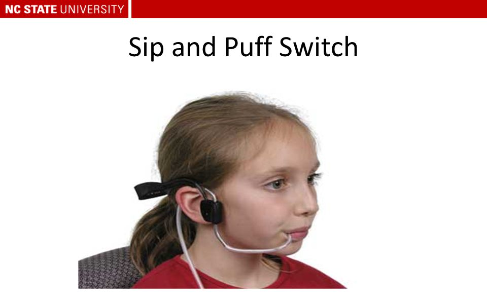 Sip and Puff Switch