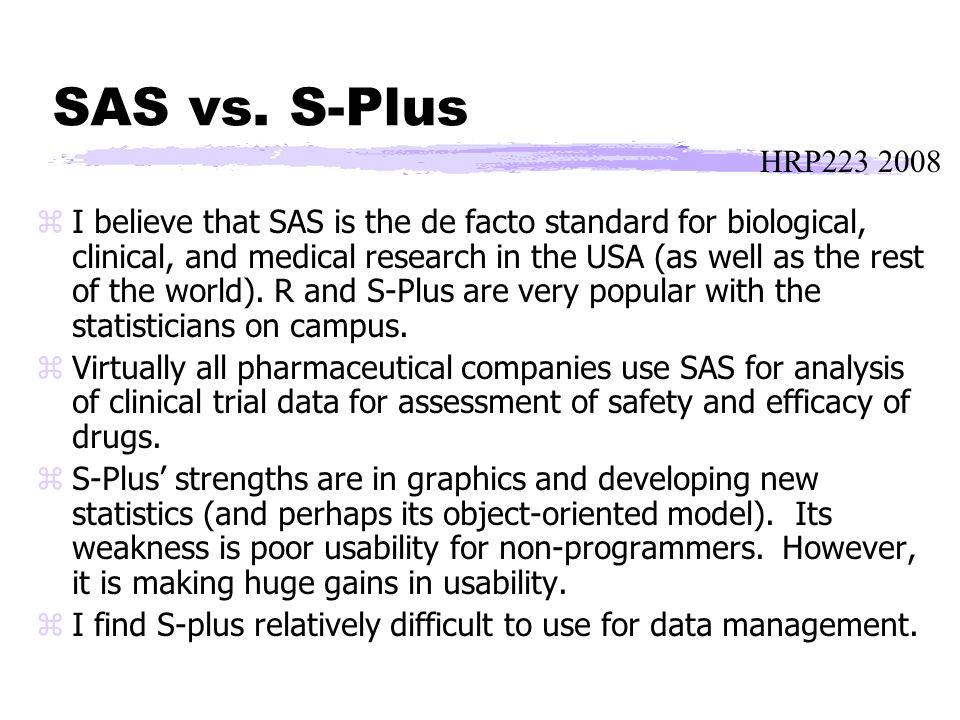 HRP223 2008 SAS vs.