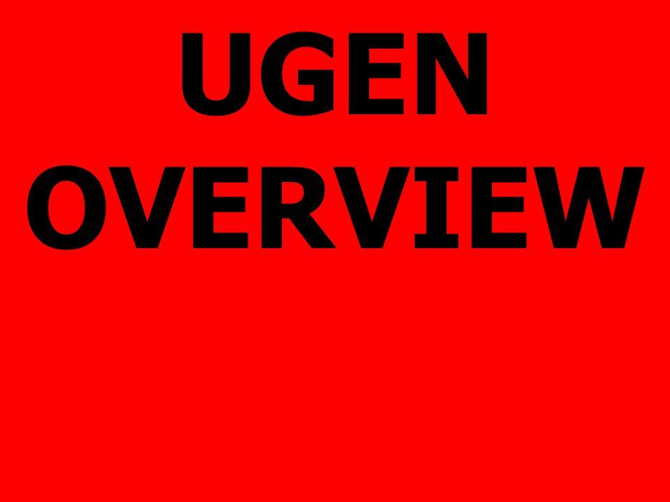 UGEN OVERVIEW
