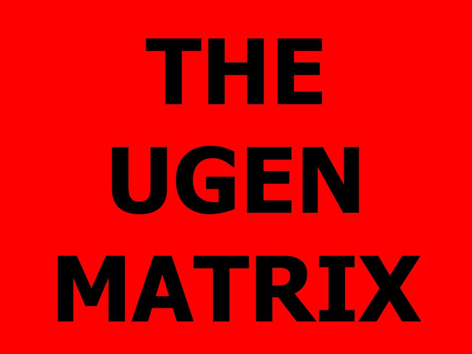 THE UGEN MATRIX