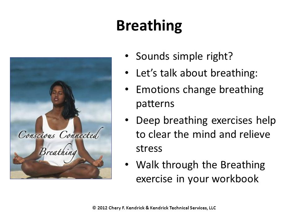 Breathing Sounds simple right.