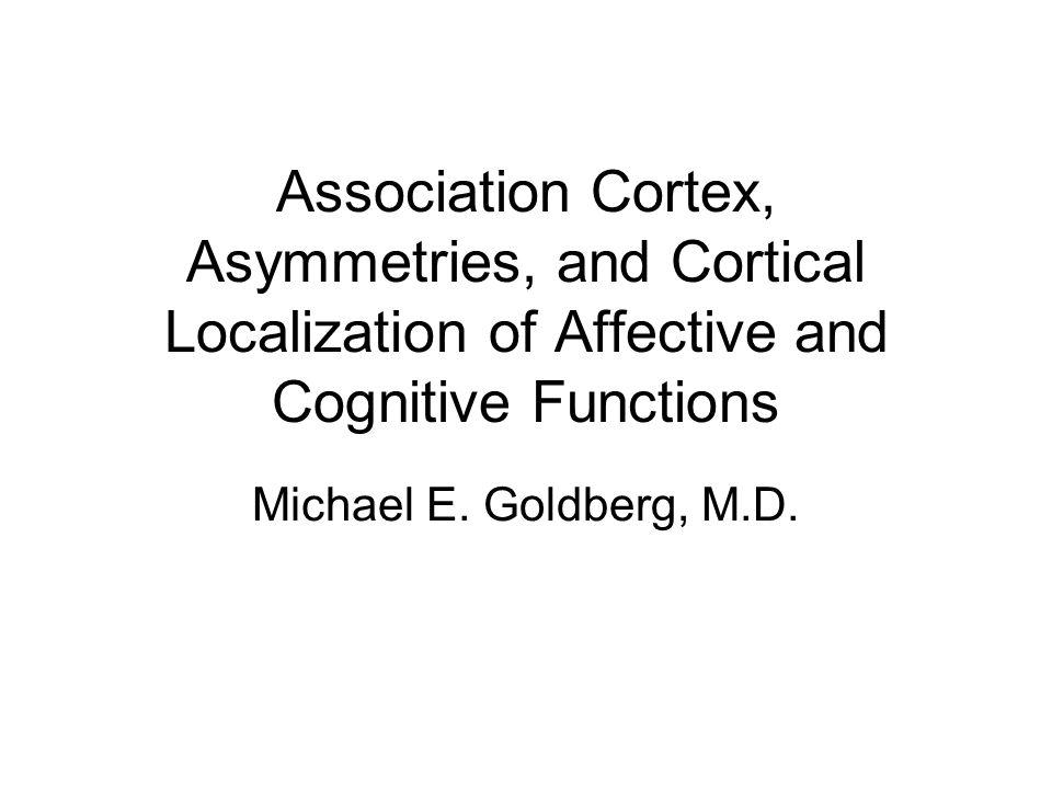 Michael E.Goldberg, M.D.