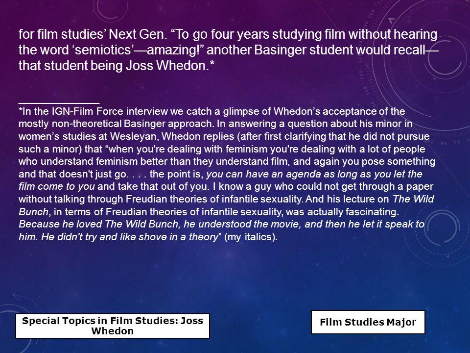 for film studies' Next Gen.