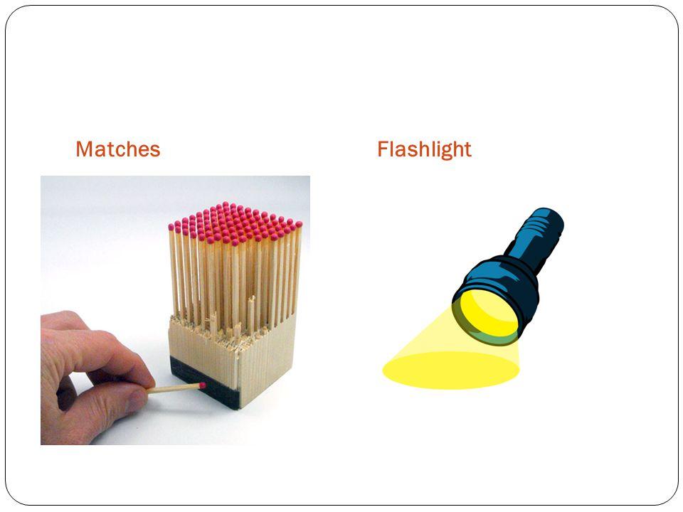 MatchesFlashlight
