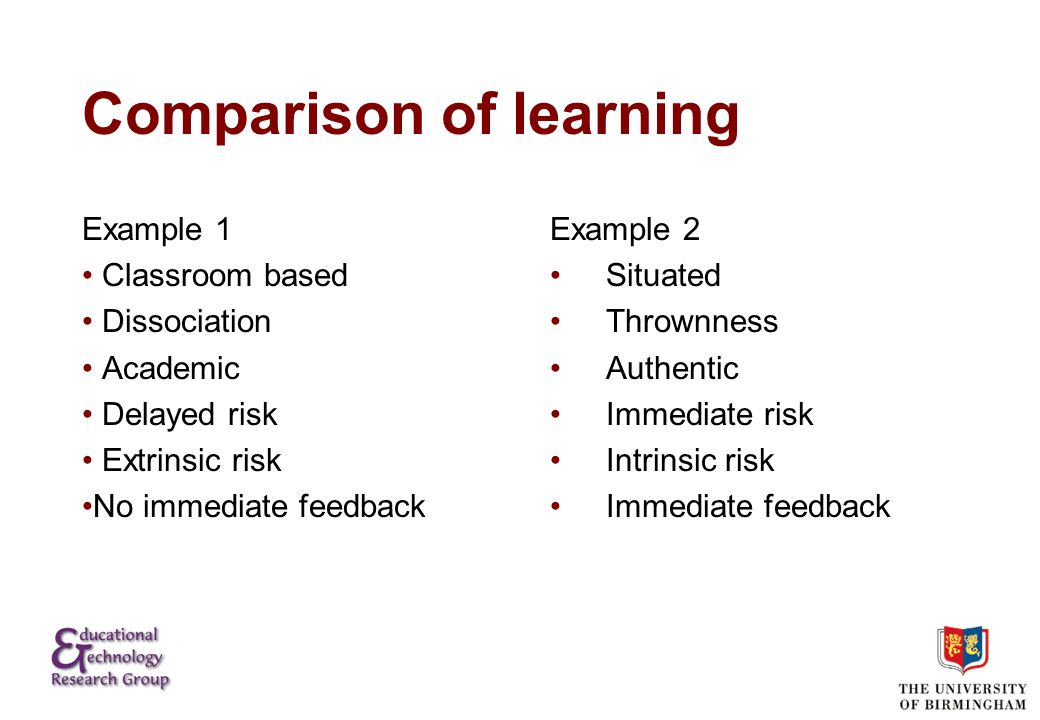 Examples of Extreme Learning?