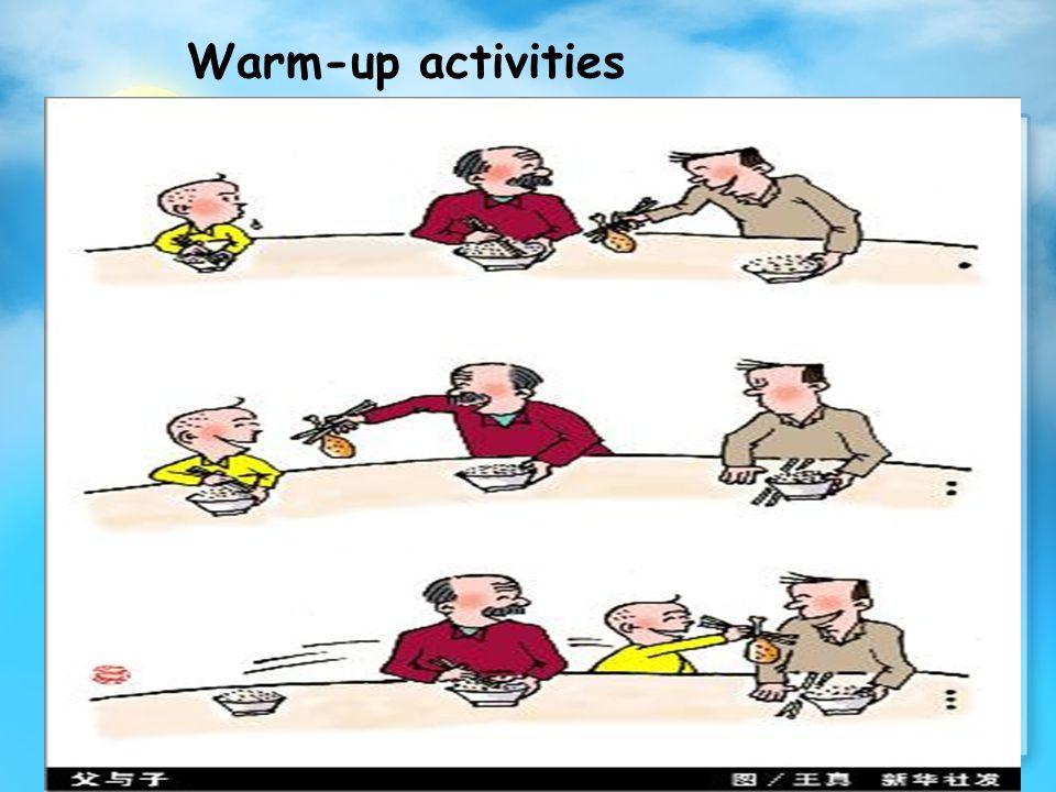 Warm-up activities