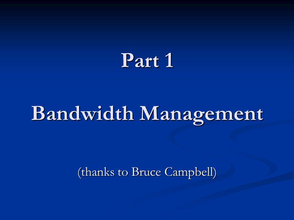 Part 2 Client Admission Control MinUWet