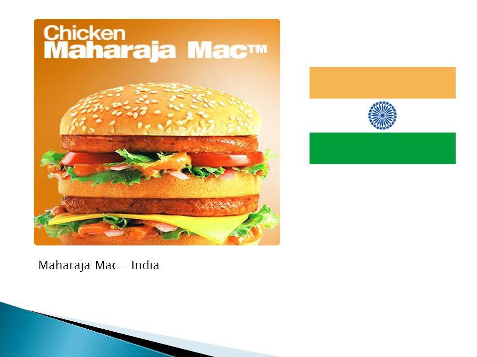 Maharaja Mac – India
