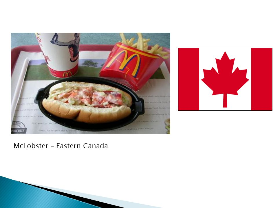 McLobster – Eastern Canada