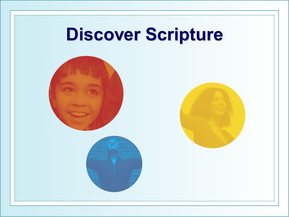Discover Scripture