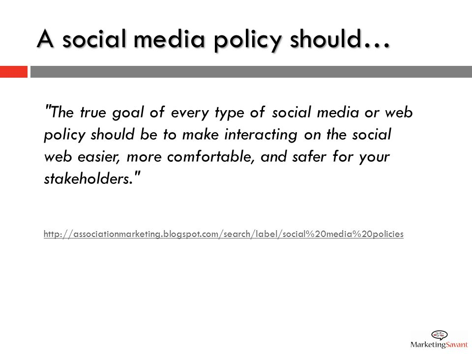 8 KEY CONSIDERATIONS FOR YOUR SOCIAL MEDIA POLICY