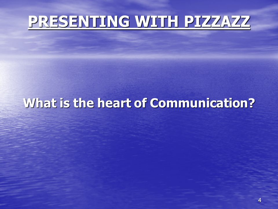 5 PRESENTING WITH PIZZAZZ Listening requires mental and physical activity Listening requires mental and physical activity We spend 80 percent of each day listening We spend 80 percent of each day listening Listening is our most frequent used communication skill Listening is our most frequent used communication skill Research shows that 40 percent of your professional salary is earned by listening.