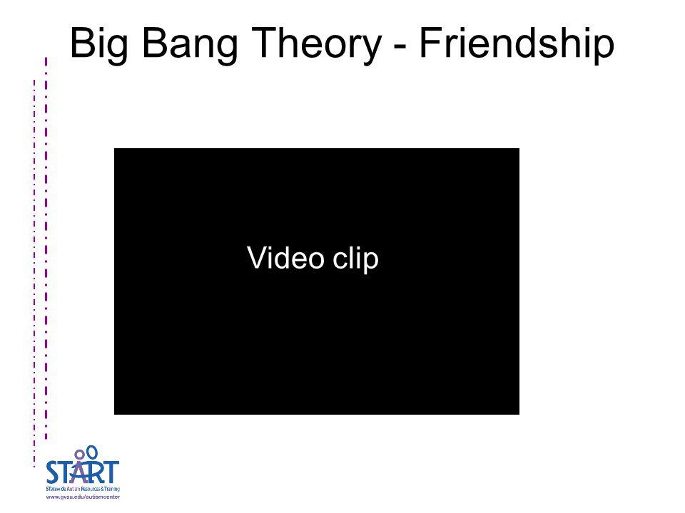 Big Bang Theory - Friendship Video clip