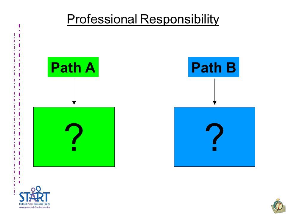 Professional Responsibility Path APath B
