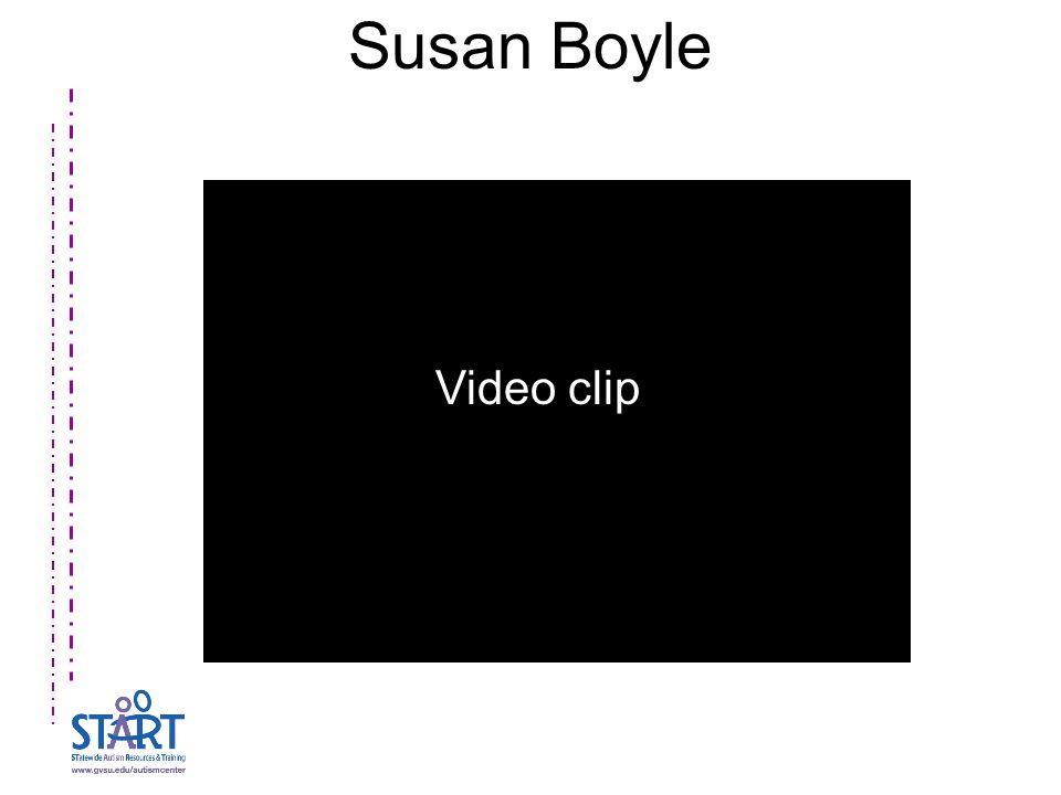 Susan Boyle Video clip