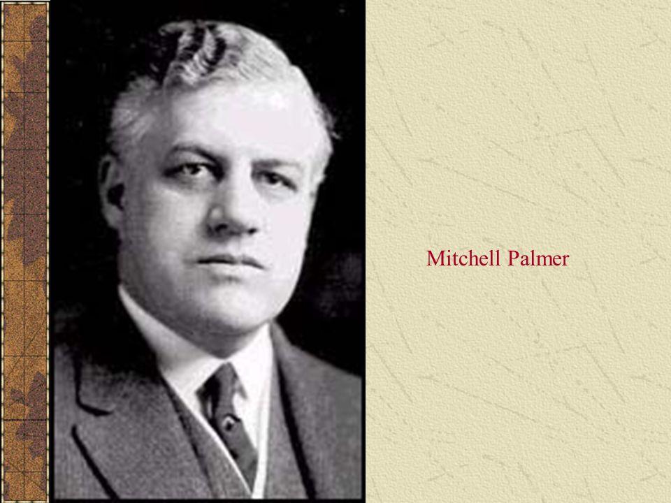 Mitchell Palmer