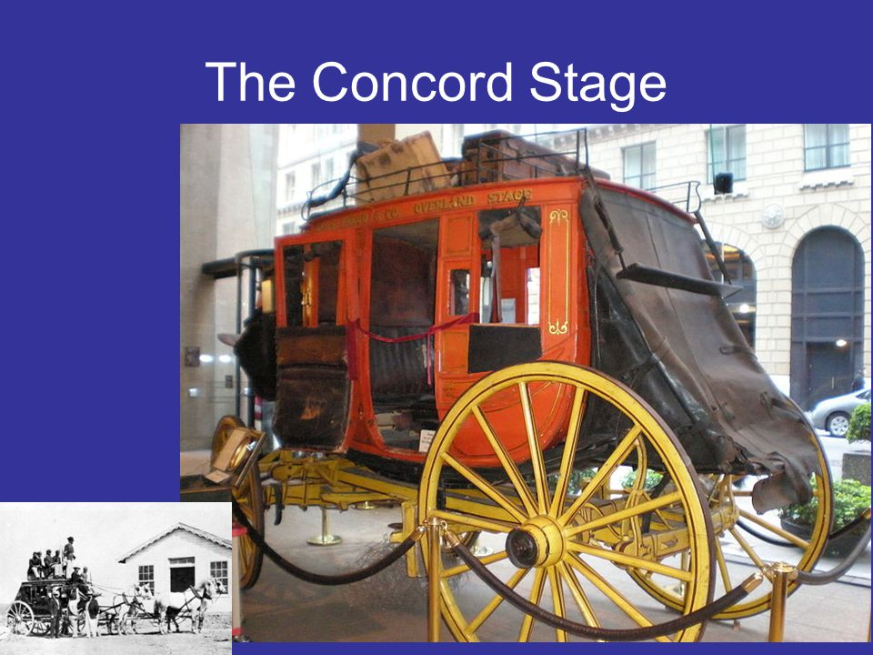 The Concord Stage