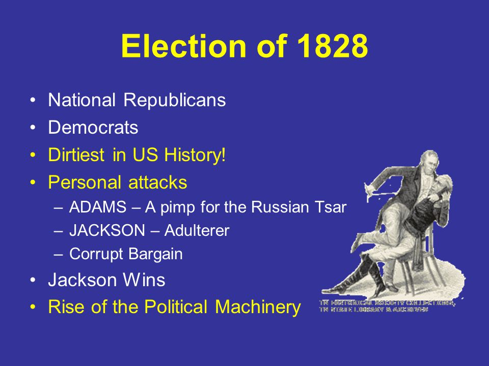 The Brand New DEMOCRATIC PARTY Andrew Jackson for President John C. Calhoun For Vice President