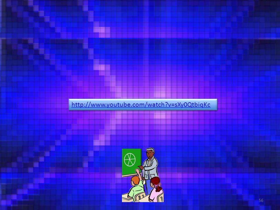 56 http://www.youtube.com/watch v=sXy0QtbiqKc