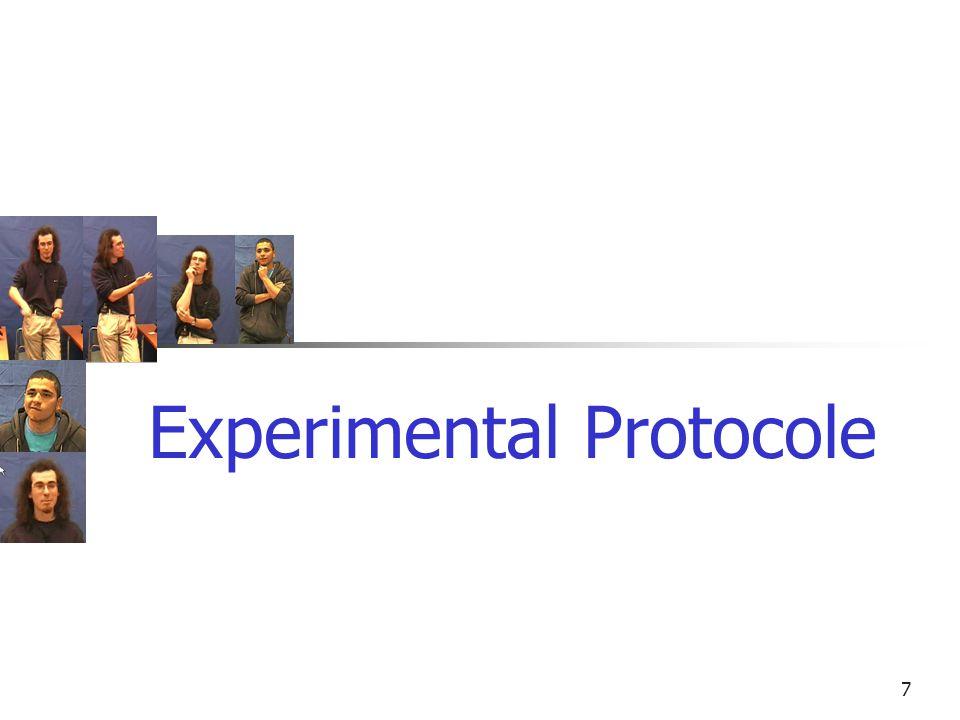 (a)(b)(c)(d)(a)(b)(c)(d) 7 Experimental Protocole