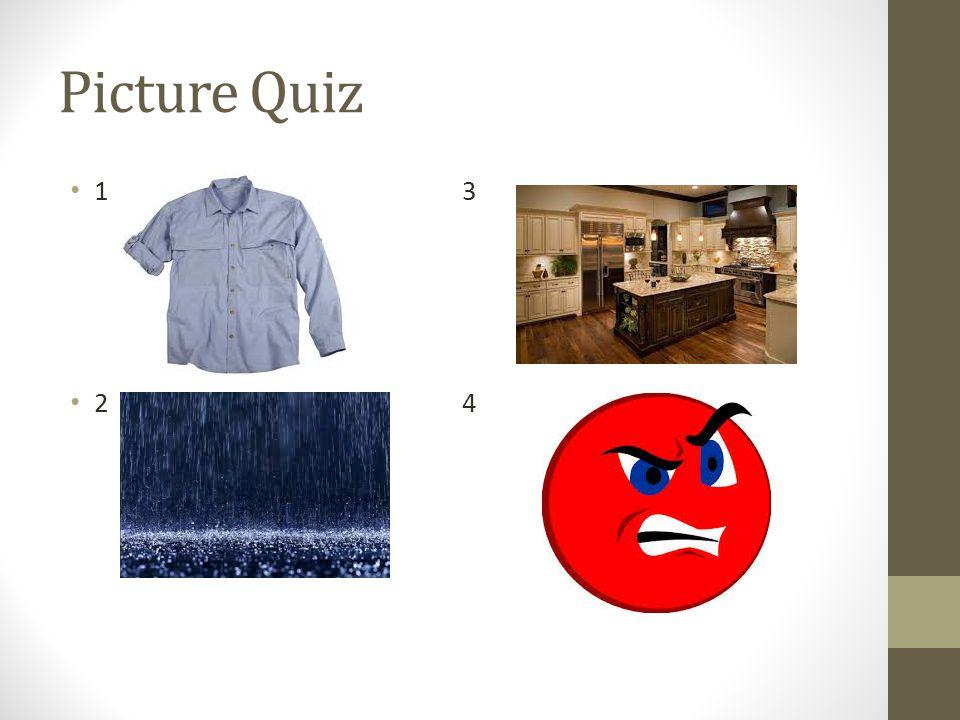 Picture Quiz 1 3 2 4