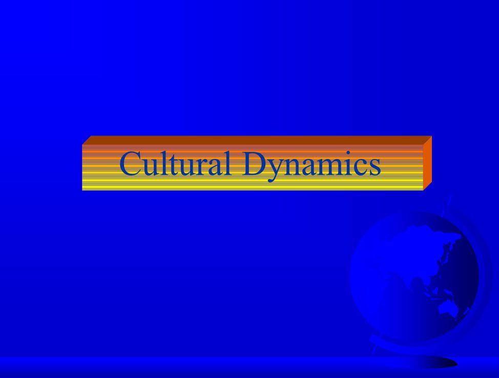 Cultural Dynamics