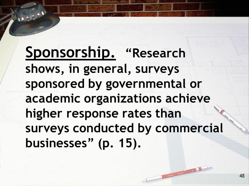 48 Sponsorship.