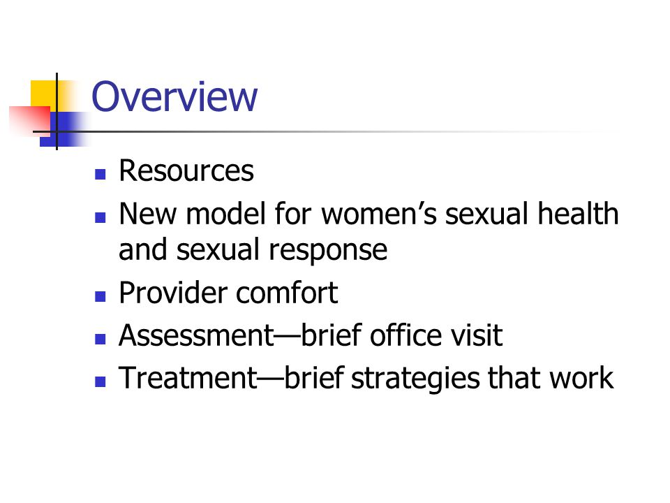 Good Basic Questions to Raise and Answer What changes, if any, in your sexual experience have you noticed.