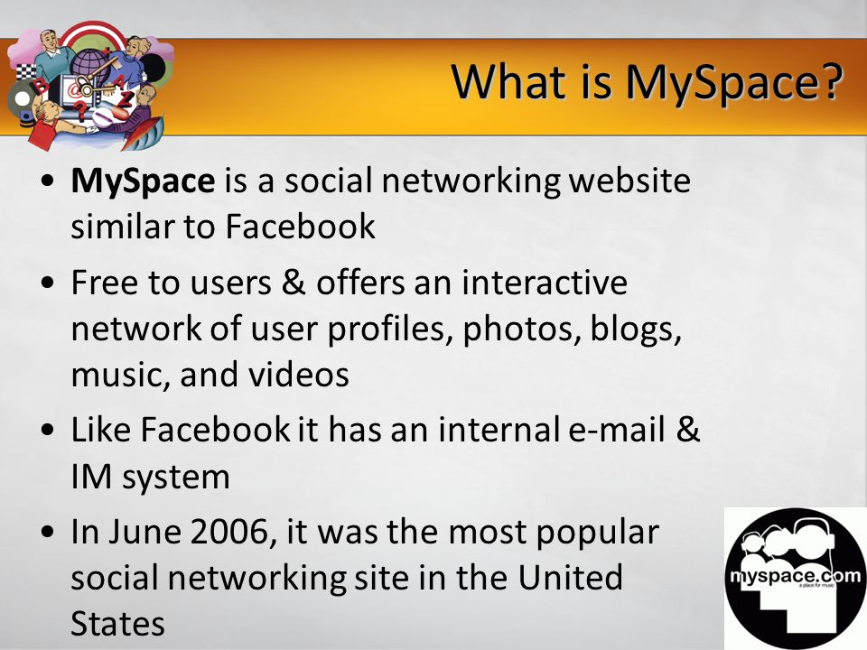 What is MySpace.