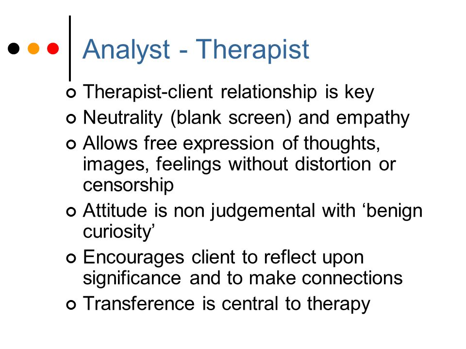 Transference occurs when clients earlier relationships contribute to their distorting of the present.