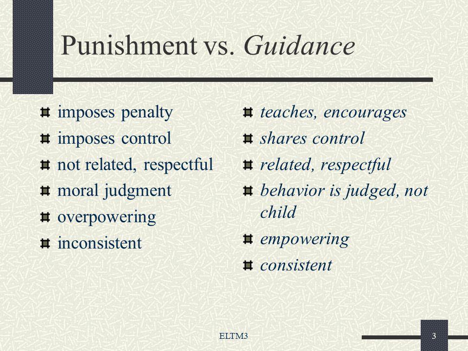 ELTM33 Punishment vs.