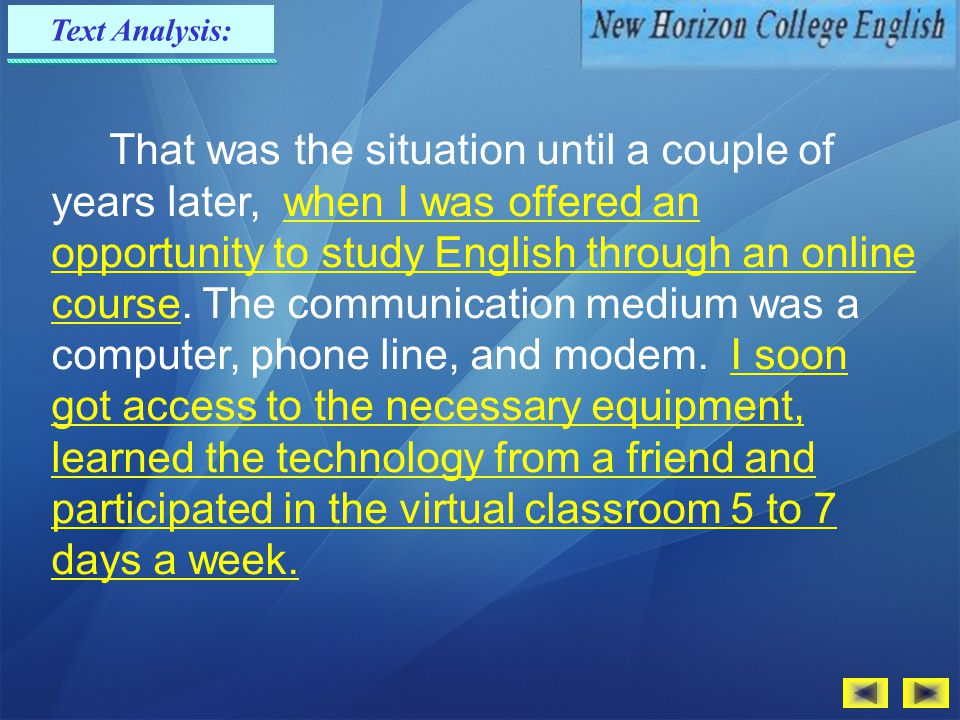 Text Analysis: As our classes were very large, I was only able to answer a couple of questions in each class periodAs our classes were very large, I w
