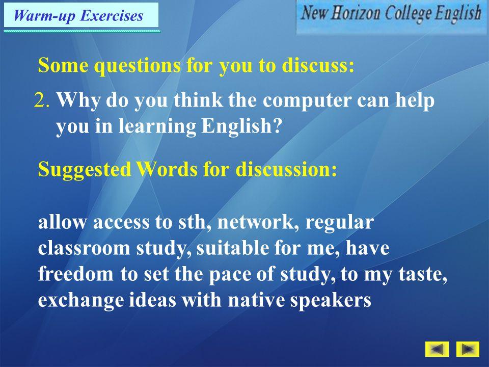 Exercises — Translation P.9 1.