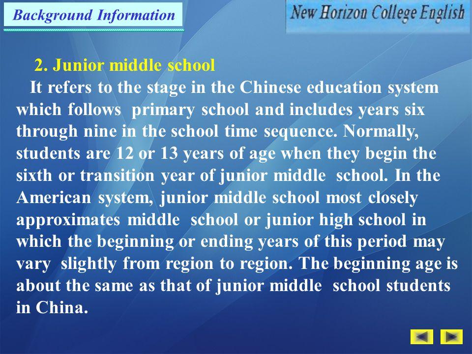 Background Information 2.