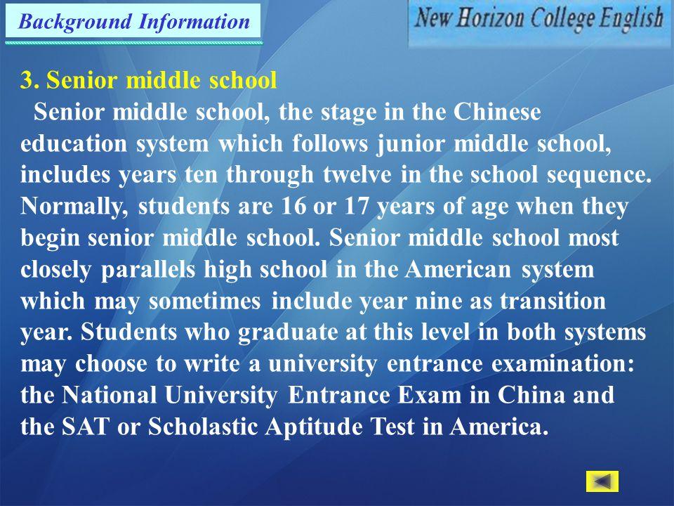 Background Information 3.