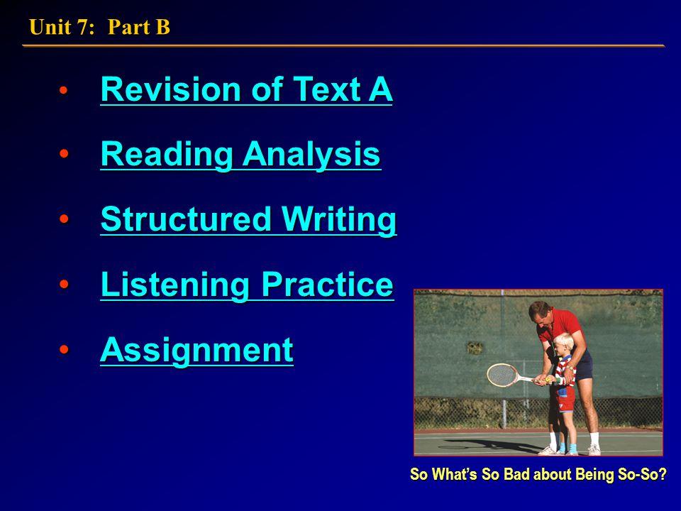 21st Century College English: Book 3 Unit 7: Part B
