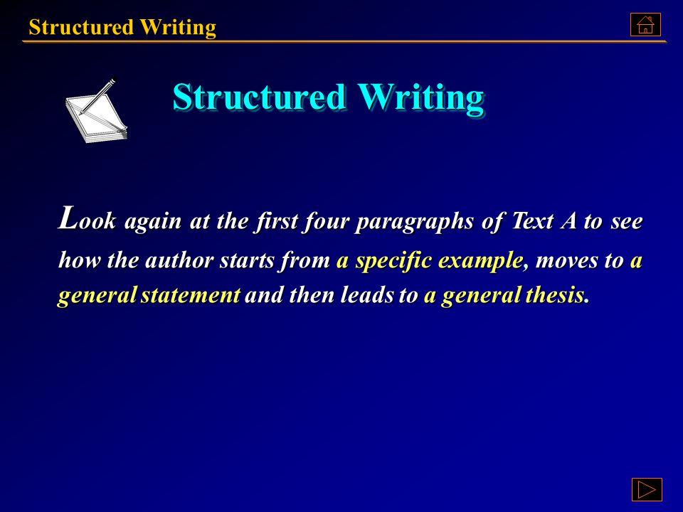 Structured Writing Ex. XV, p. 213 《读写教程 III 》 : Ex. XV, p. 213