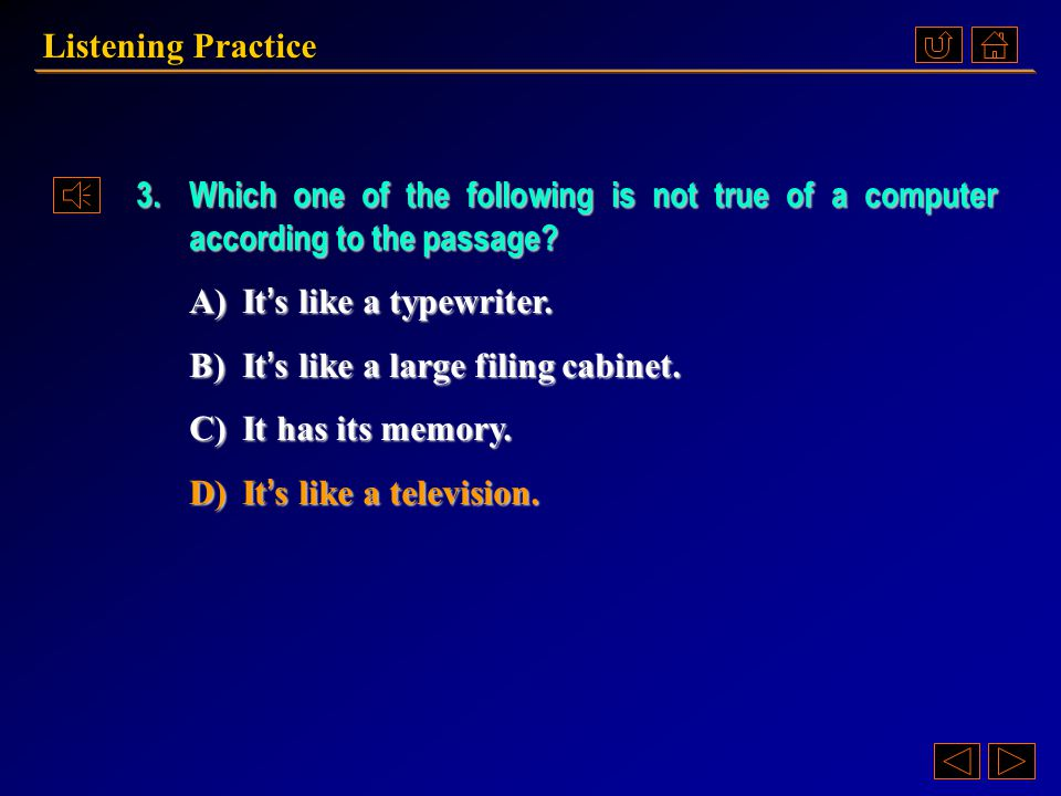 2.What is not mentioned about the word processor. A)It is just an advanced typewriter.