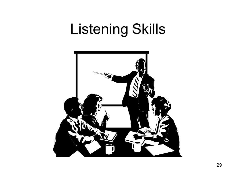 29 Listening Skills