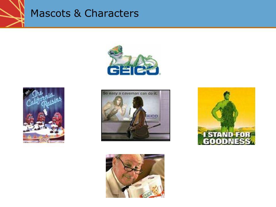 Mascots & Characters
